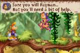 Rayman 3 Game Boy Advance Ly will give to you some extra skills later in the adventure. What a great girl!
