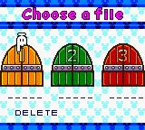 Magical Tetris Challenge Game Boy Color Select one of these empty slots to save your progress.