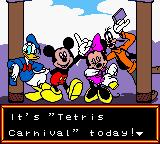 Magical Tetris Challenge Game Boy Color The Disney guys!