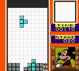 Magical Tetris Challenge Game Boy Color Mickey plans the grand finale!