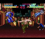Final Fight SNES Use the special move to hit many enemies at the same time, including a fool cop.