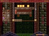 Bricks of Camelot Windows Castle Level 2 - the green thing at the bottom of the screen is a ball catcher