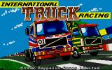 International Truck Racing Atari ST Title Screen