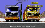 International Truck Racing Atari ST Next lap