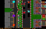 International Truck Racing Atari ST Starting the real race