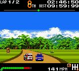 Top Gear Pocket Game Boy Color It's necessary take care with the opponents to the front...