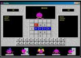 Balda Windows 3.x Main game screen