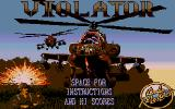Violator Atari ST Title Screen