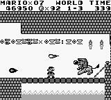 Super Mario Land Game Boy You can kill the boss or just jump over him.