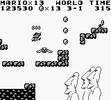 Super Mario Land Game Boy Mario on Easter Island?