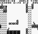 Super Mario Land Game Boy In a cave