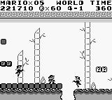 Super Mario Land Game Boy Mario vs. angry hopping Chinese vampires