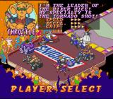 Biker Mice from Mars SNES ... which resulted in as many Snickers-ads as possible being placed in the game.