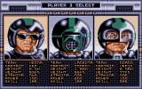 Speedball Atari ST Player Select