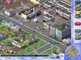SimCity 3000 Windows a close look at a small town