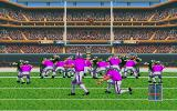 TV Sports: Football Amiga Trying for the extra point