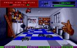 Exterminator Amiga Move the hand to the side of the screen to shoot bugs