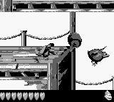 Donkey Kong Land III Game Boy What this bird ate that was so fat?