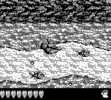 Donkey Kong Land III Game Boy Swimming between the danger.