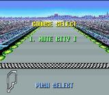F-Zero SNES Choose between 7 tracks in Practice Mode and put your car in the winners' circle!