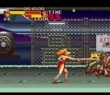 Final Fight 2 SNES Find the 2x4 block and kill all the bad guys!