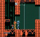 Shatterhand NES Beating down some enemy robots