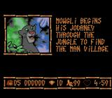 Disney's The Jungle Book NES Level 1 Intro