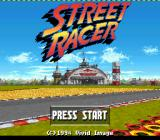 Street Racer SNES Title screen