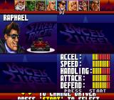 Street Racer SNES Driver selection