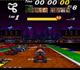 Street Racer SNES Race about to commence