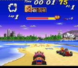 Street Racer SNES Another race level