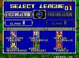 Super Baseball 2020 Neo Geo League Selection