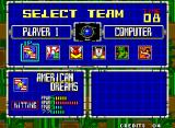 Super Baseball 2020 Neo Geo Team Selection