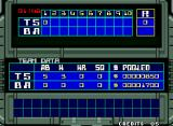 Super Baseball 2020 Neo Geo The scoreboard