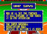 Super Baseball 2020 Neo Geo The umpire speaks
