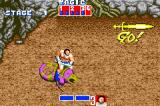 SEGA Smashpack Game Boy Advance Golden Axe: These lizard things are far more powerful that your muscle bound goon.