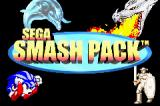 SEGA Smashpack Game Boy Advance Main Title Screen