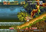 Top Hunter: Roddy & Cathy Neo Geo Obtained a machine gun