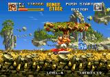Top Hunter: Roddy & Cathy Neo Geo One of the bonus stages in the game