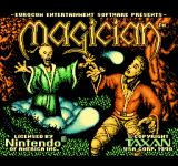 Magician NES Title screen