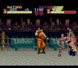 "Final Fight Guy SNES Look! Some free lance guys are in the ""good life"" before dying..."