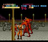 Final Fight SNES [Final Fight Guy] This enemies possess a worthless energy bar. Look out with the bottles!