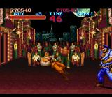 Final Fight Guy SNES A fool cop defeats you. Is this the end?