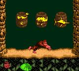 Donkey Kong Country Game Boy Color You must coincide three animals to gain a prize...