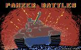 Panzer Battles Commodore 64 Title screen