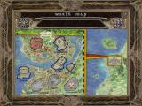 Baldur's Gate II: Shadows of Amn Windows This part of the world map shows the city of Athkatla.