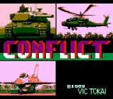 Conflict NES Japan Title screen