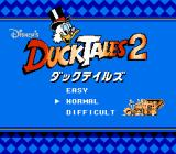 Disney's DuckTales 2 NES Japan Title screen