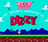 The Fantastic Adventures of Dizzy NES Aladdin version title screen