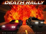 Death Rally DOS Game title screen